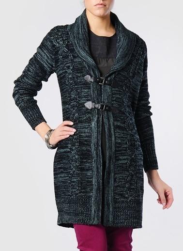 Vero Moda Vero Moda 10080642 SOUL Kadın Kazak Siyah